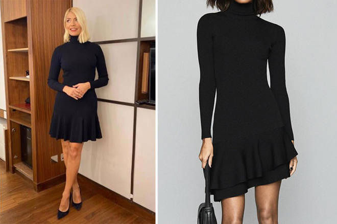 Holly Willoughby's dress is from Reiss