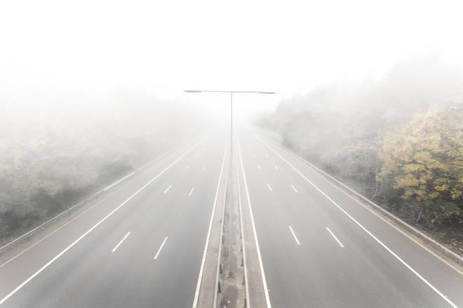 Freezing fog has descended on the UK (stock image)