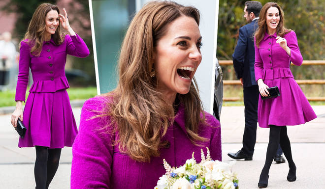 The Duchess of Cambridge looked stunning during the engagement last week