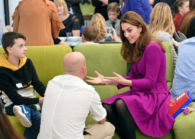 The Duchess of Cambridge was in Norfolk to open The Nook, a new children's hospice