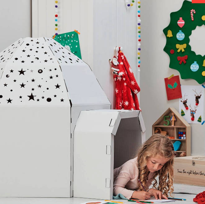 Hobbycraft's igloo is £7.50
