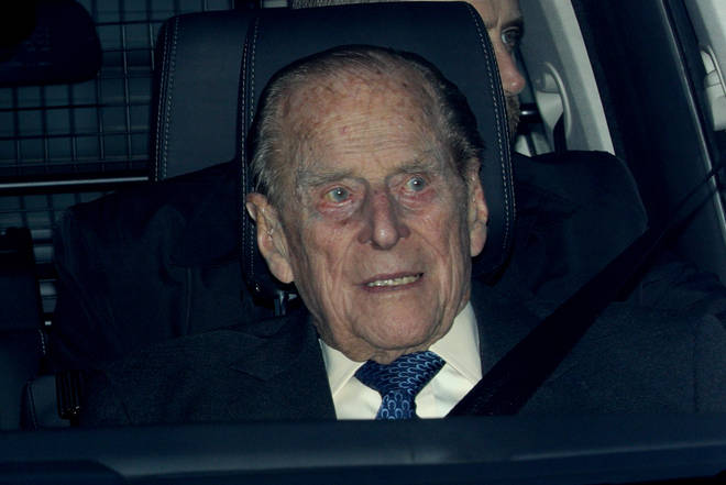 The Duke of Edinburgh was involved in a car collision earlier this year