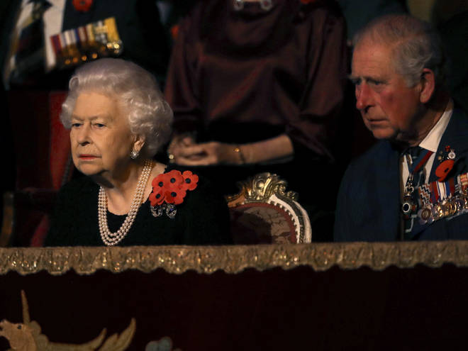 The Queen's relationship with Prince Charles is apparently strained too