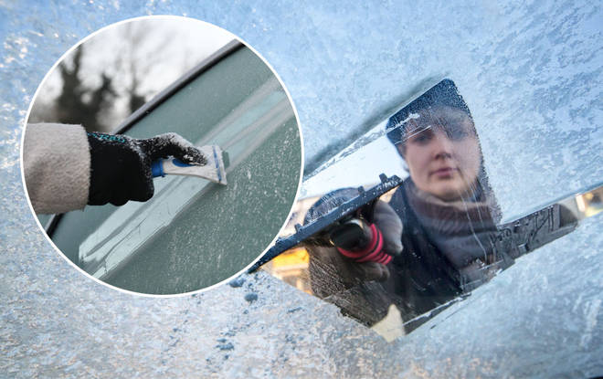 De-icing your car first thing in the morning is a serious hassle for those who haven't prepared