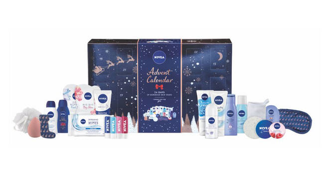 The Nivea winter wonderland calendar is full of your classic favourites