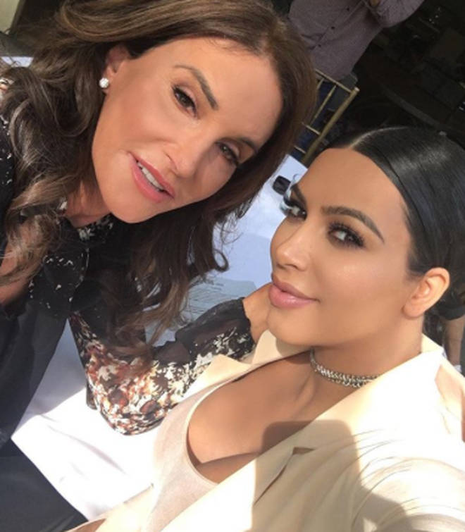 Kim Kardashian has previously been keen to stick up for mum Kris Jenner over Caitlyn's comments