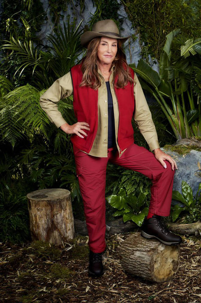 Caitlyn Jenner told her campmates that her family know she is in the jungle