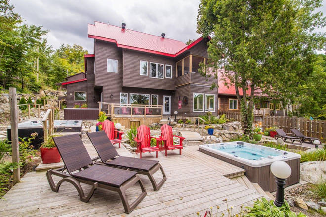Auberge du Lac Morency is an idyllic accommodation in Laurentides