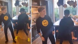 Victoria Beckham has been dancing to Spice Girls