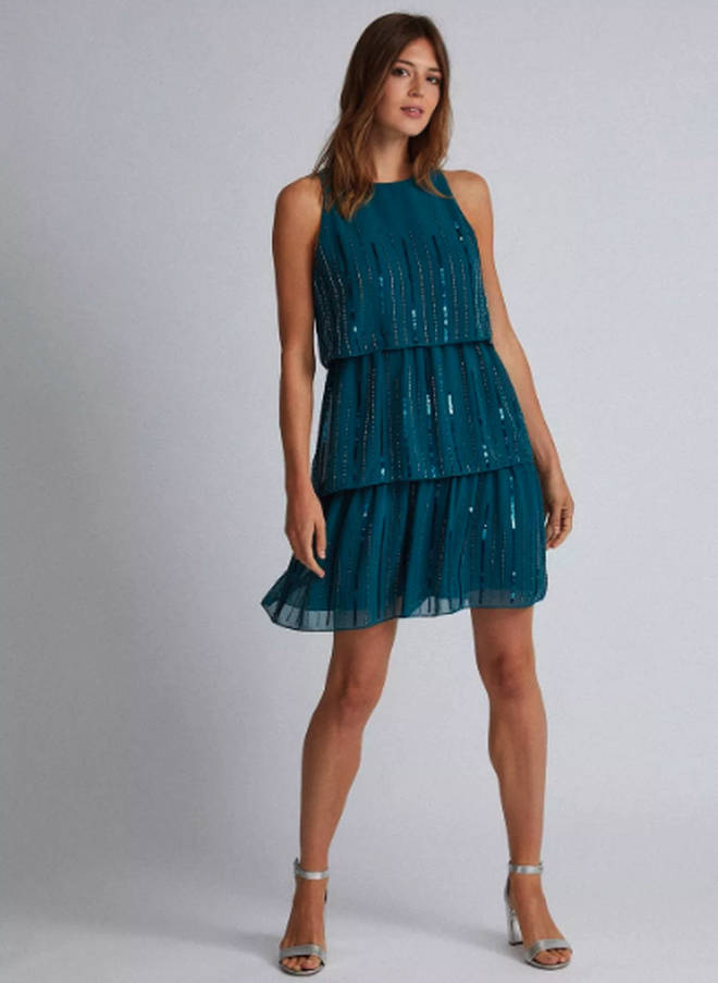 Dorothy Perkins Tiered Trapeze Dress