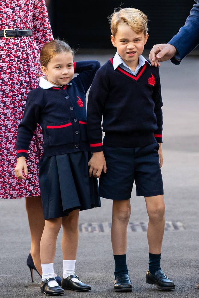 George and Charlotte wanted to see the singing and dancing