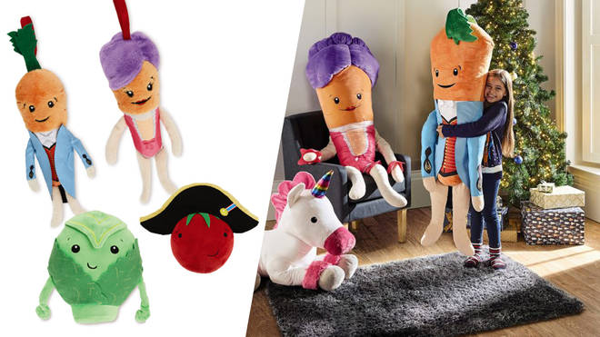 Kevin the Carrot and his friends are back in soft toy form