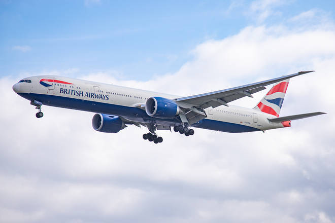British Airways flights across a number of continents have been affected