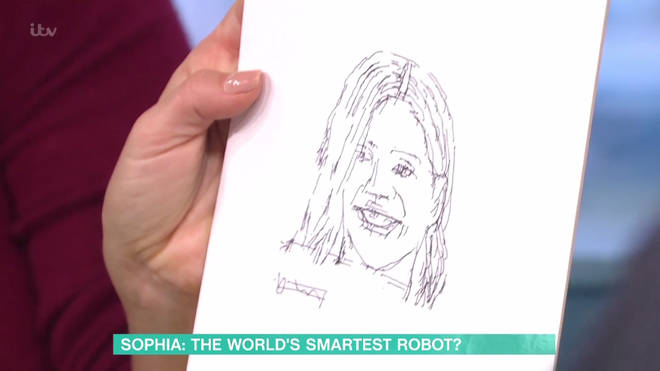 Sophia also drew a picture of Holly