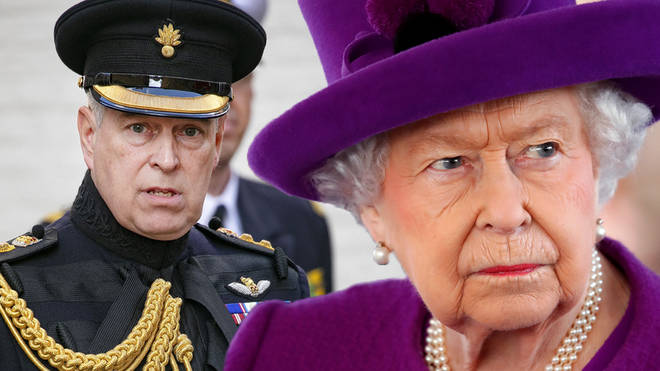 The Queen reportedly 'sacked' Prince Andrew from royal duties