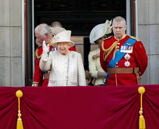 The Queen is said to have allowed Prince Andrew to write his own statement