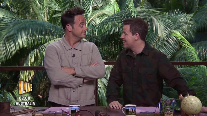 Viewers were in hysterics at the joke