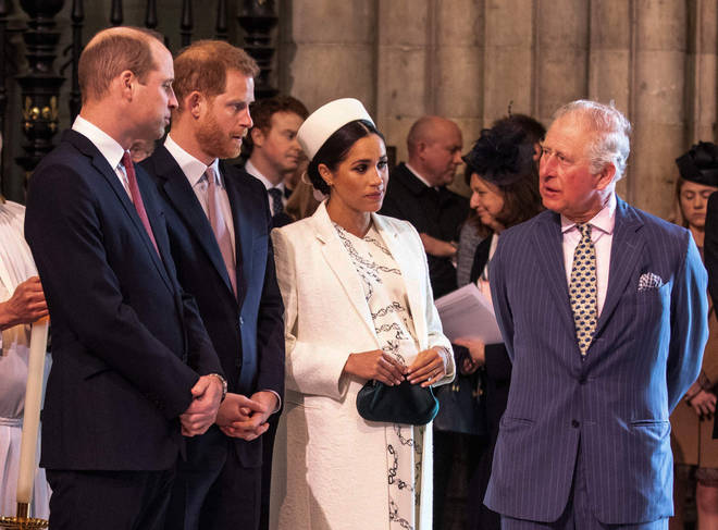 It is thought that William questioned his brother's relationship with Meghan