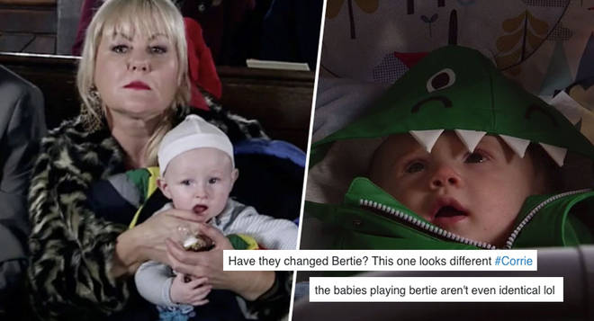 Fans noticed something different about Bertie