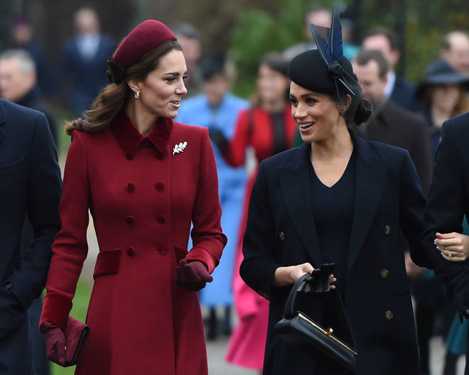 Some have claimed that the fallout was between Meghan and Kate