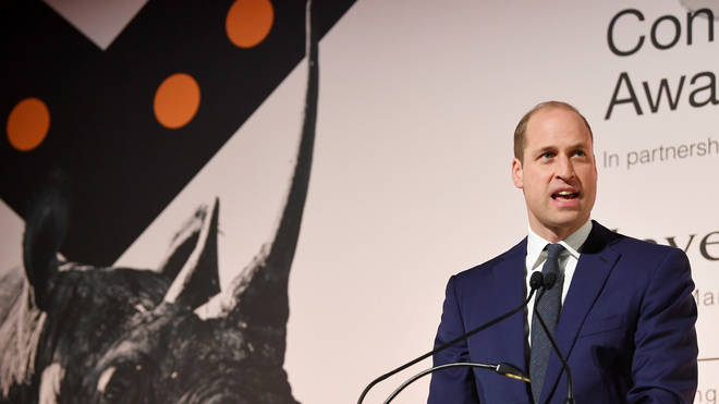 Prince William spoke at the Tusk awards ceremony
