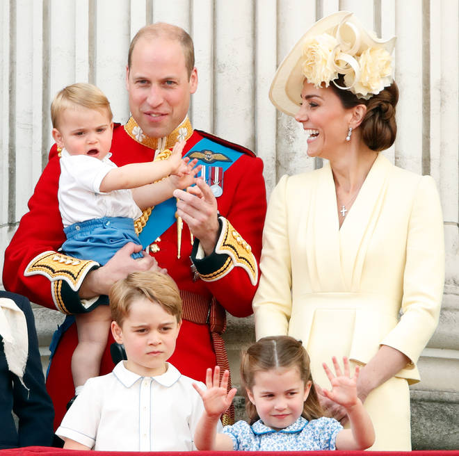 Kate was forced to miss a royal appointment to look after her children