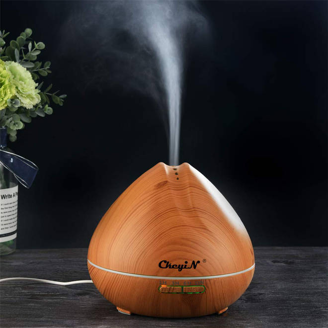 Essential oil diffusers are increasingly poplar for homes