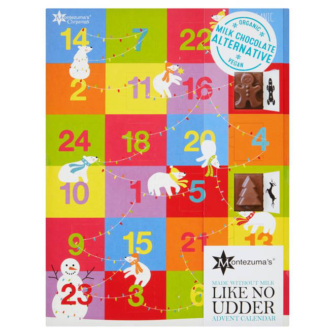 Montezuma vegan advent calendar