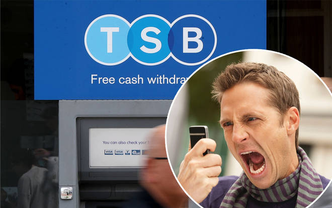 The huge banking chain left its customers with no cash