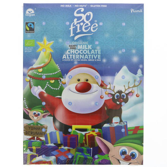 So Free Milk Chocolate Alternative vegan advent calendar