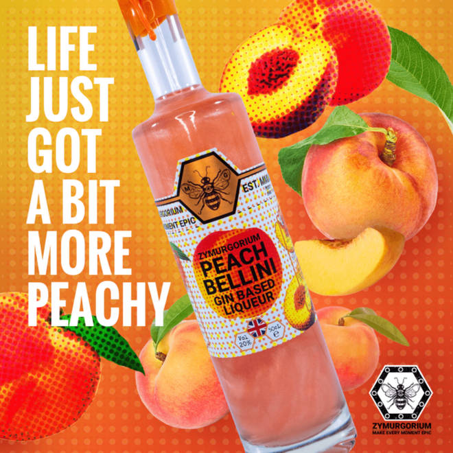 Peach Bellini is one of the few incredible flavoured they have