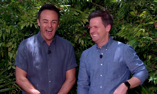 Ant and Dec were left in hysterics