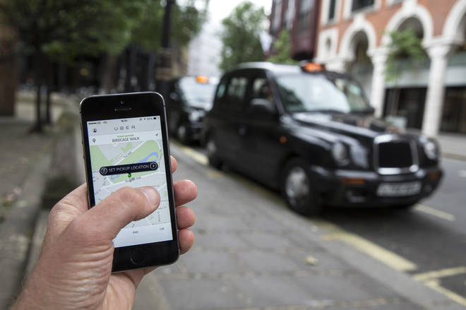 The app taxi service will see their license expire tonight