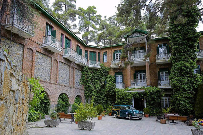 The New Helvatia Hotel has been owned by the same family for 90 years, so there's a homey vibe throughout the property