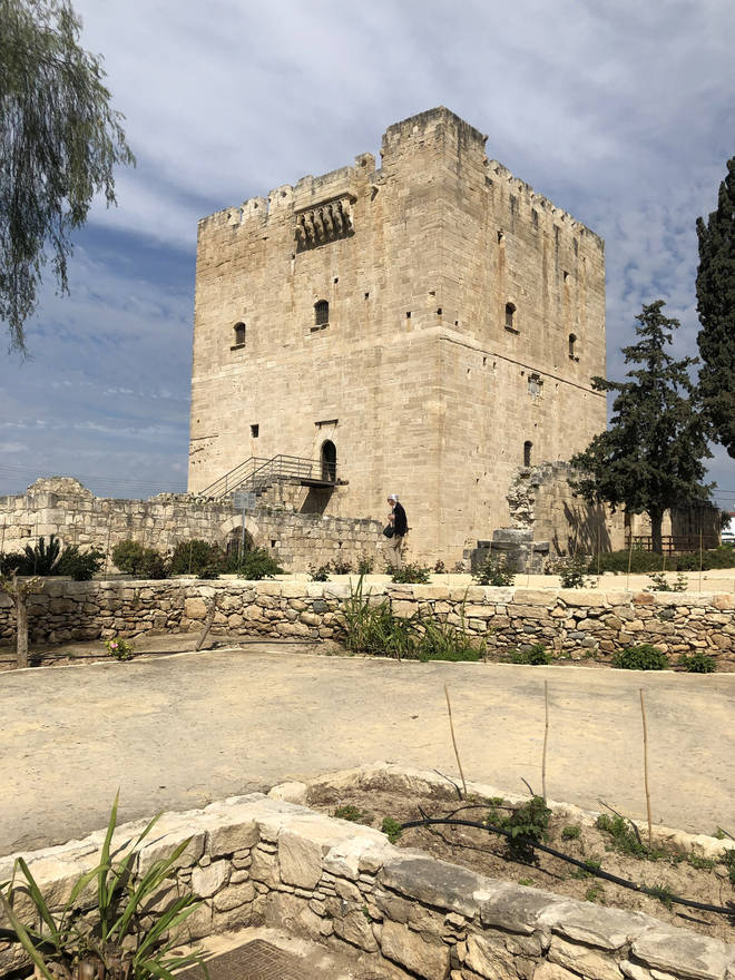 Kolossi Medieval Castle was originally built in the 13th century