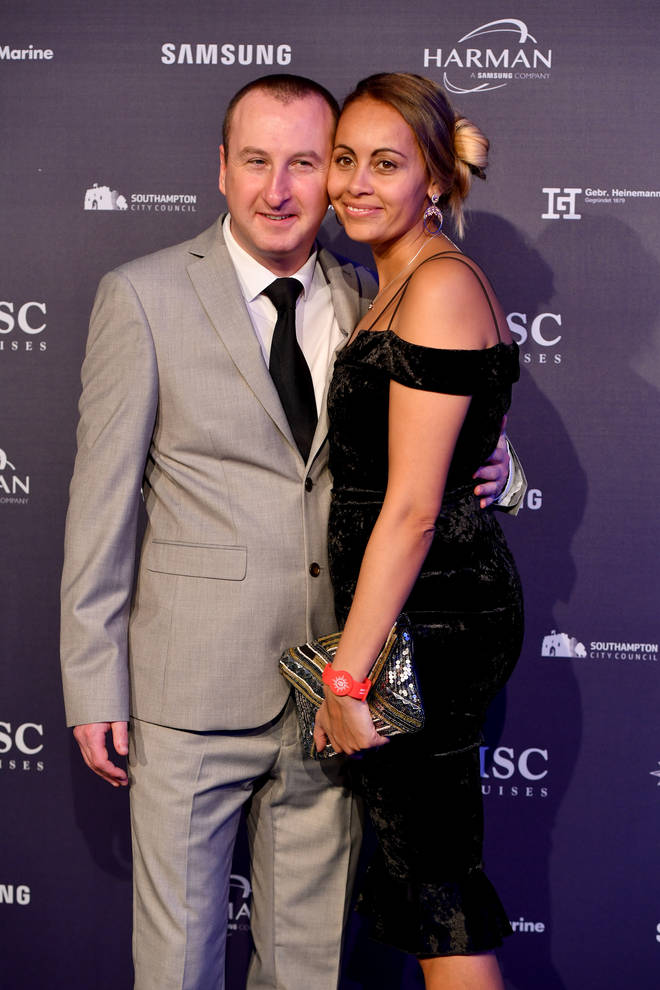 Coronation star Andrew Whyment and Nicola Willis
