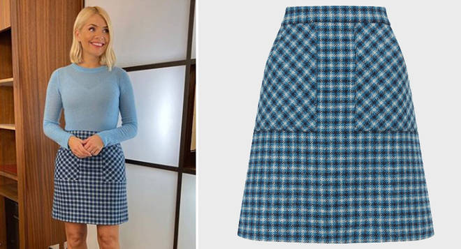 Holly Willoughby's skirt is from Hobbs