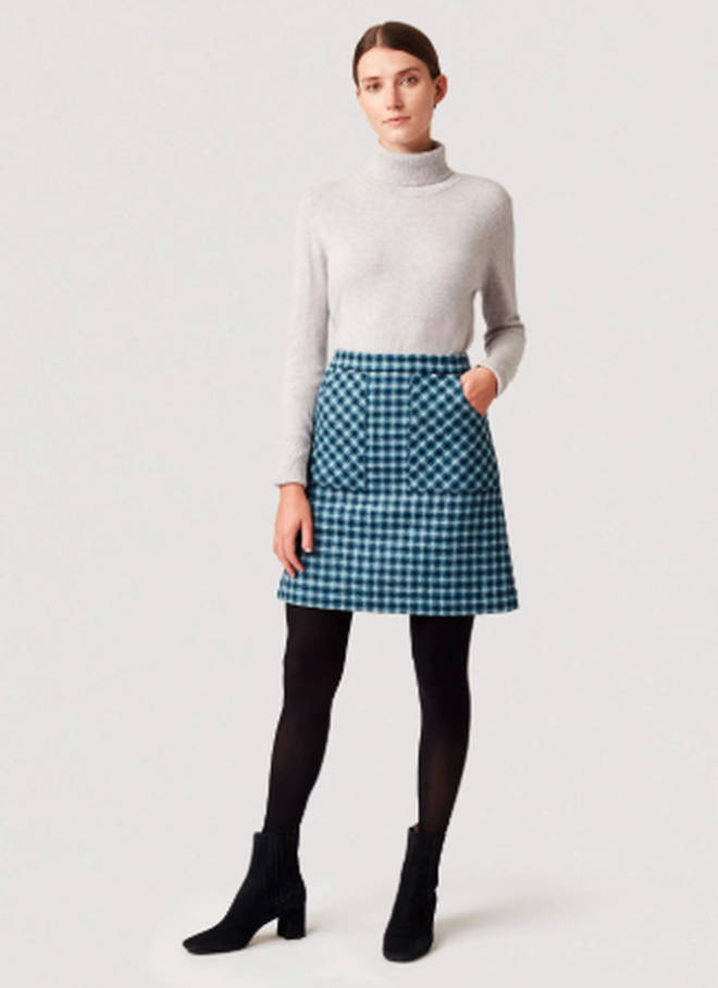 Holly's skirt is in the sale for £82.50