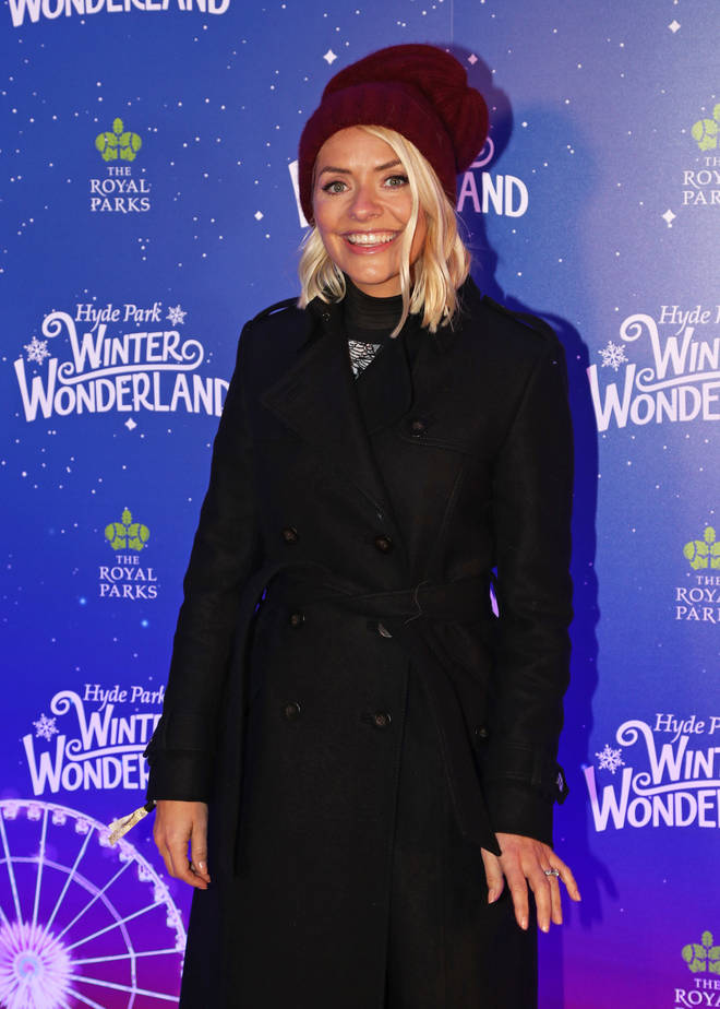 Holly stunned at the star-studded Winter Wonderland opening