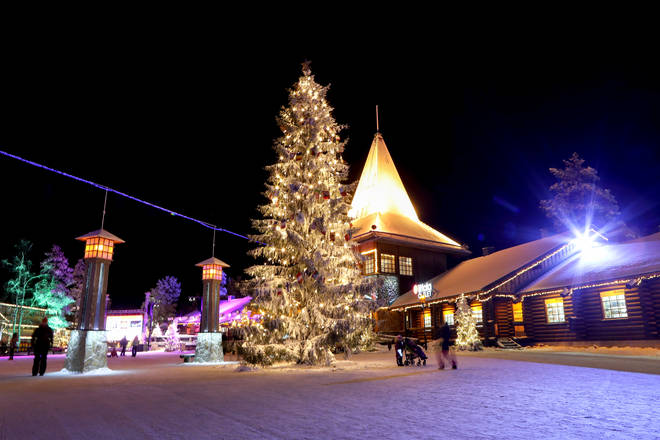 TUI are selling a trip to Lapland's capital Rovaniemi for £478pp