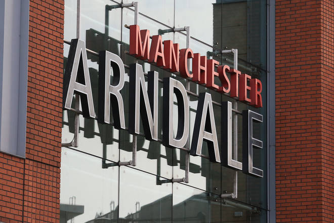 The incident took place the The Manchester Arndale today
