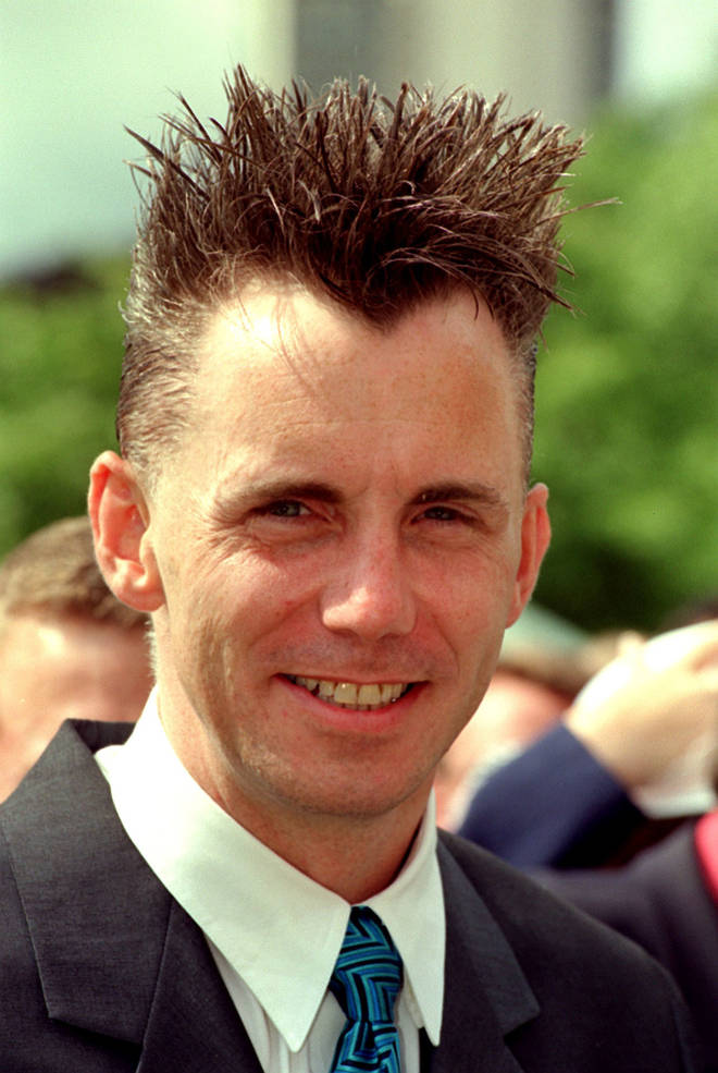 Gary Rhodes was famed for his spiky hair