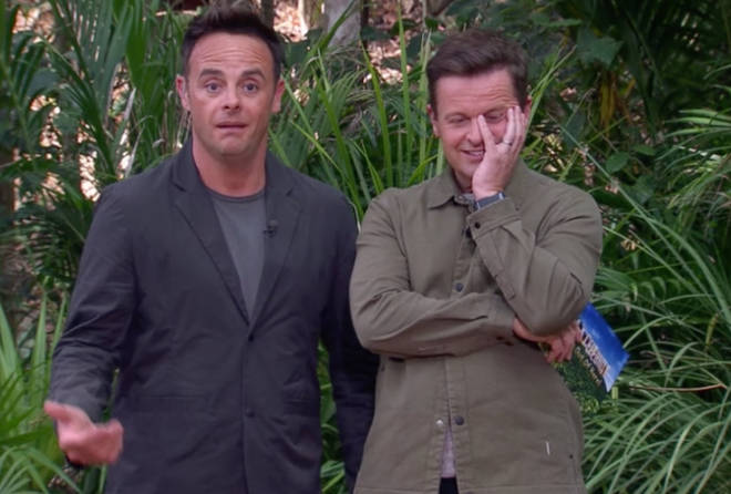 Ant was left shocked by Ian's snappy response