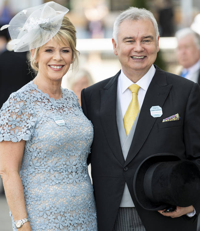 Ruth is a regular presenter on This Morning with her husband Eamonn