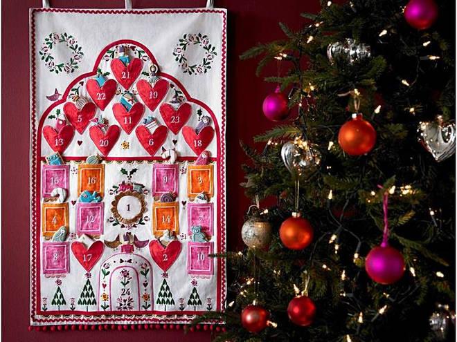 Biscuiteers cloth advent calendar