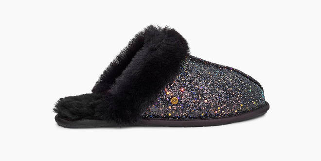 A glam mum will adore these sparkly slippers from UGG, that's for sure