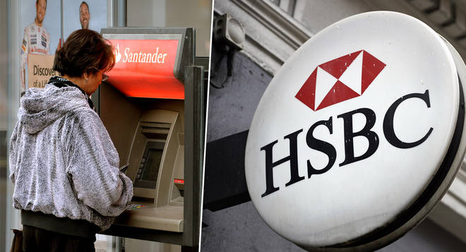 HSBC and Santander customers are owed money