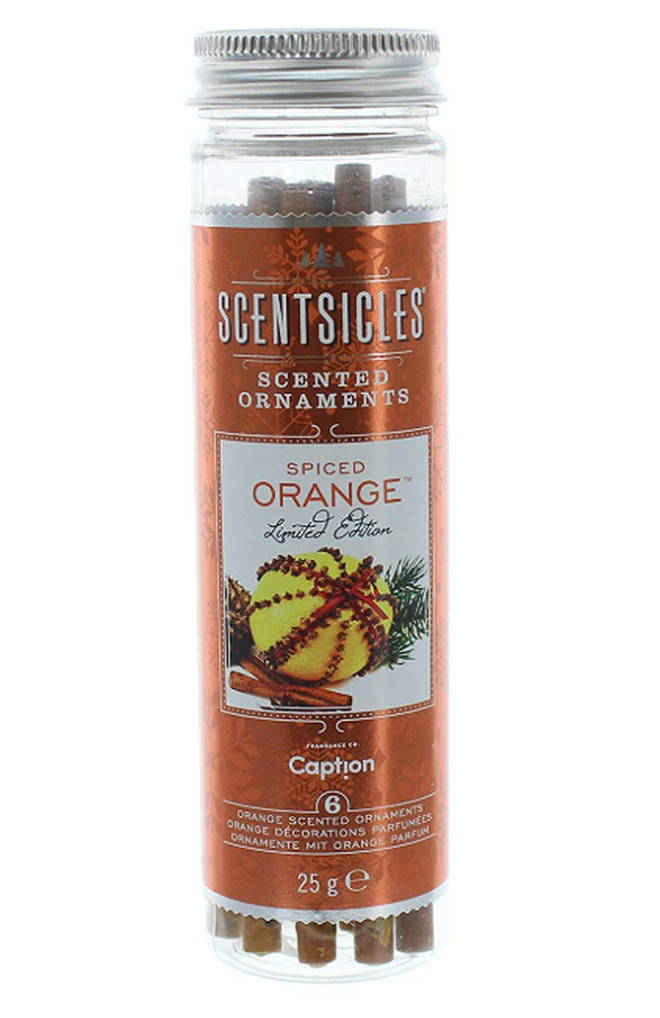 Scentsicles Spiced Orange Scent Sticks - Pack of 6