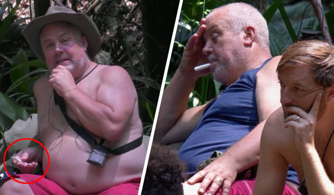 I'm A Celebrity viewers thought Cliff was vaping in the jungle