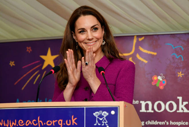 Earlier this year, the Duchess, 37, opened EACH's new centre, The Nook, in Norfolk